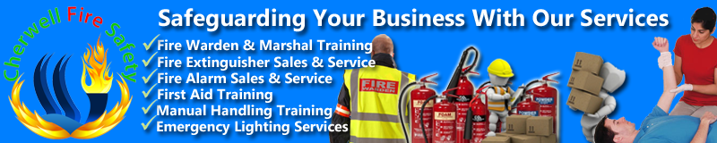 Cherwell Fire Safety provide a complete range of fire safety products and services